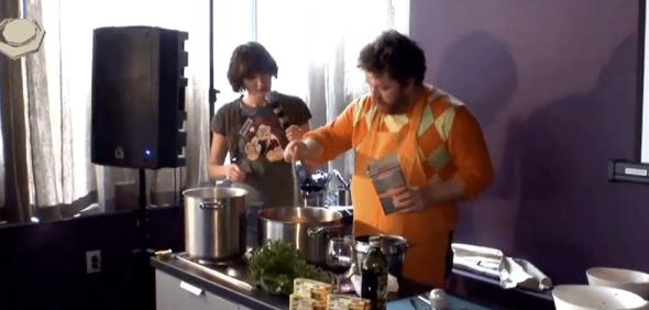 Knorr — душа обеда! Мастер-класс Алексея Зимина