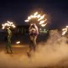 Съемка промо видео с выступления Fireshow