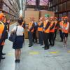 Видеосъемка торжественного открытия логистического склада KYB