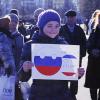 Видеосъемка общественного мероприятия: Одинцово, Народное собрание в поддержку жителей Крыма