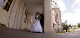 Съемка свадебного клипа Семёна и Марины