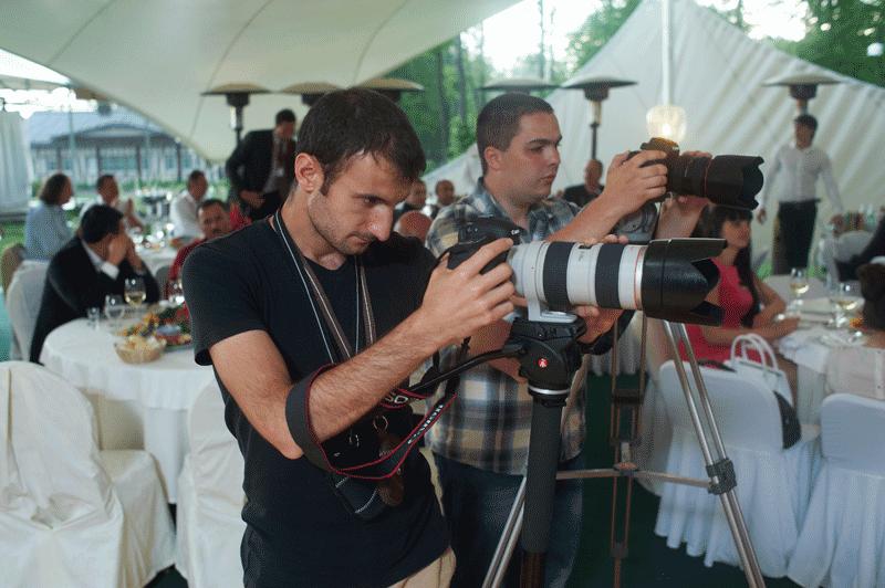 Съемка мероприятий на две и более камеры