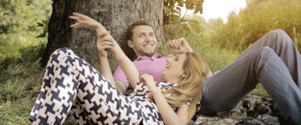 Съемка клипа в стиле Love Story