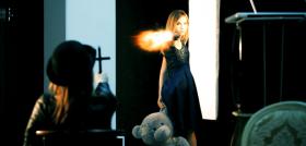 Съемка промо ролика: Анна Языкова специально для Backstage Hunters