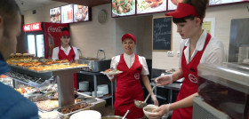 """Видеосъёмка промо ролика для сети городских кафе-столовых """"SiO"""""""