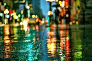 видео-съемка в дождь